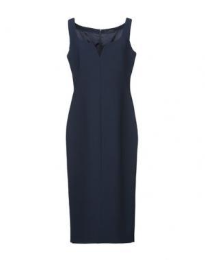 Платье длиной 3/4 BLACK LABEL. Цвет: темно-синий