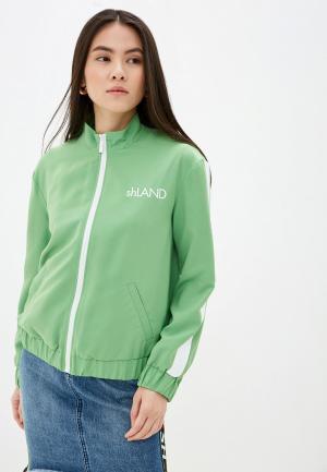 Ветровка SH. Цвет: зеленый