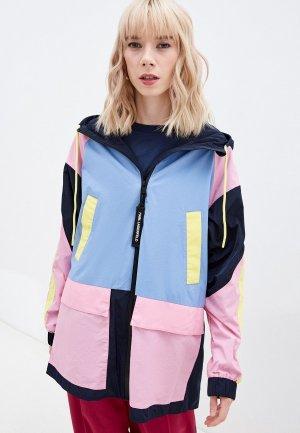 Ветровка Karl Lagerfeld. Цвет: разноцветный