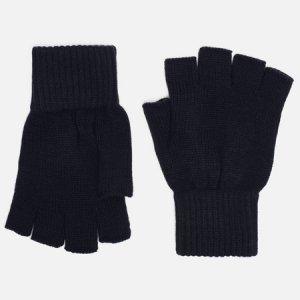 Перчатки Military Mitten Carhartt WIP. Цвет: синий