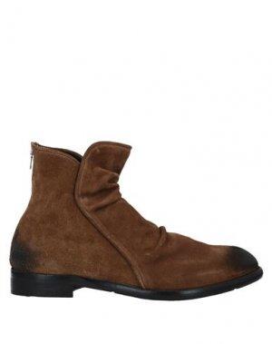 Полусапоги и высокие ботинки JP/DAVID. Цвет: верблюжий