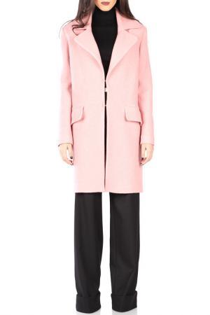 Пальто CARLA BY ROZARANCIO. Цвет: розовый