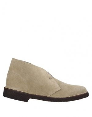 Полусапоги и высокие ботинки MISTER TAMBOURINE. Цвет: песочный