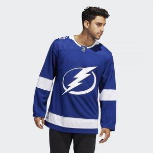 Оригинальный хоккейный свитер Lightning Home Performance adidas. Цвет: none