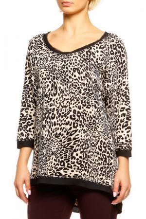 Кофта SEVENTY. Цвет: леопард