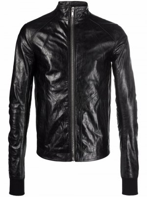 Куртка с жатым эффектом Rick Owens. Цвет: черный