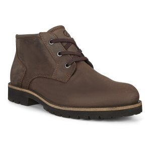 Ботинки JAMESTOWN ECCO. Цвет: коричневый