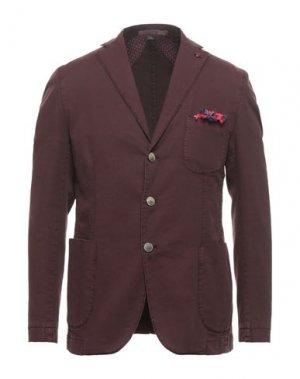 Пиджак JERRY KEY. Цвет: красно-коричневый