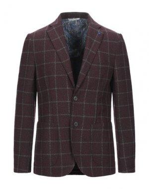 Пиджак PRIMO EMPORIO. Цвет: красно-коричневый