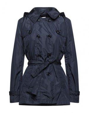 Легкое пальто HENRY COTTON'S. Цвет: темно-синий
