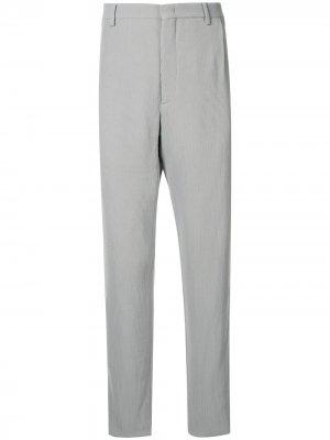 Вельветовый костюм Giorgio Armani. Цвет: серый
