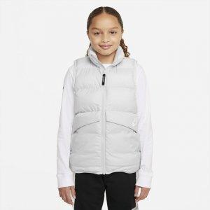 Жилет с синтетическим наполнителем для школьников Sportswear - Серый Nike