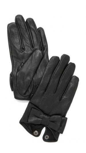Bow Snap Gloves Carolina Amato