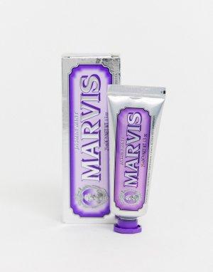 Зубная паста с мятой и жасмином 25 мл-Бесцветный Marvis