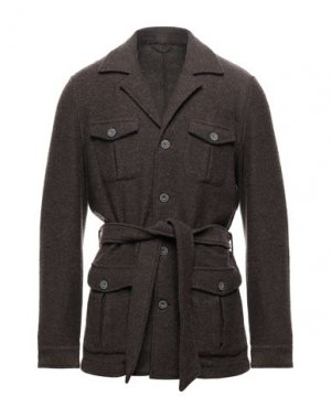 Куртка GRAN SASSO. Цвет: темно-коричневый