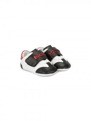 Кроссовки на липучках со вставками Dolce & Gabbana Kids. Цвет: 89926 multi color
