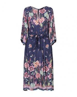 Платье длиной 3/4 HALE BOB. Цвет: фиолетовый
