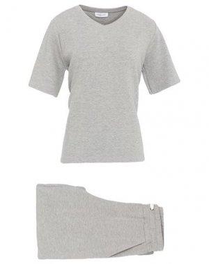 Пижама FEMILET. Цвет: светло-серый