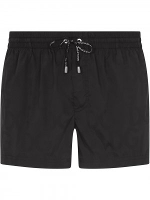 Плавки-шорты с кулиской Dolce & Gabbana. Цвет: черный