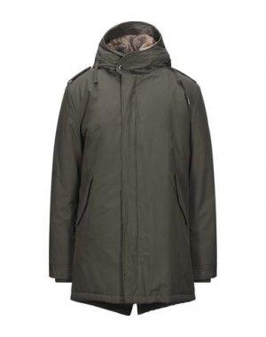 Пальто CANADIAN. Цвет: зеленый-милитари