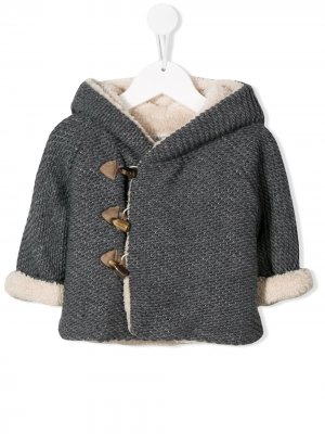 Knitted hooded jacket Aletta
