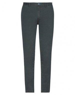 Повседневные брюки FRED MELLO. Цвет: темно-зеленый