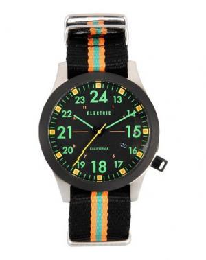 Наручные часы ELECTRIC. Цвет: черный