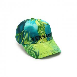 Бейсболка Versace. Цвет: зелёный
