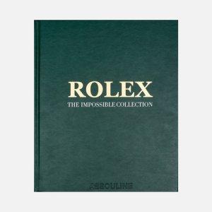 Книга Rolex: Impossible Collection Assouline. Цвет: зелёный