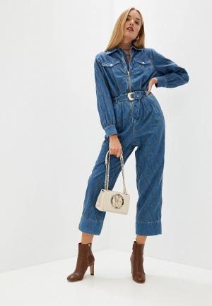 Комбинезон джинсовый Just Cavalli. Цвет: синий