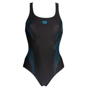 Купальник слитный для бассейна Jamy Swim Pro ARENA. Цвет: черный/ синий