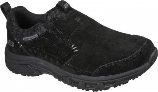 Слипоны мужские Oak Canyon, размер 43.5 Skechers. Цвет: черный