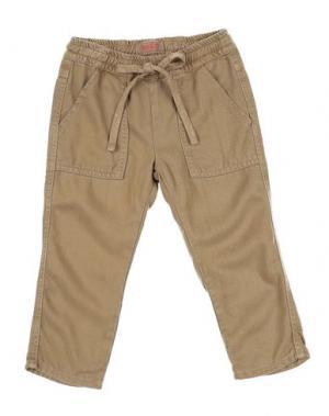 Повседневные брюки MAAN. Цвет: хаки