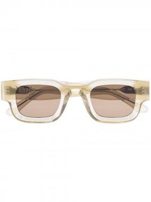 Солнцезащитные очки из коллаборации с Rhude Rhevision 177 Thierry Lasry. Цвет: зеленый