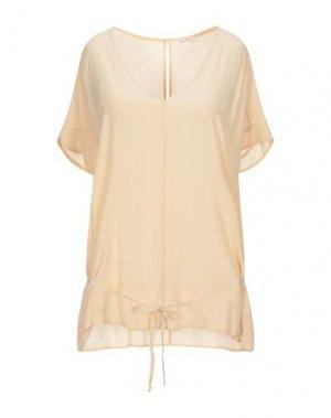 Блузка AMERICAN VINTAGE. Цвет: песочный