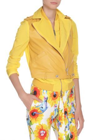 Куртка Gaetano Navarra. Цвет: желтый