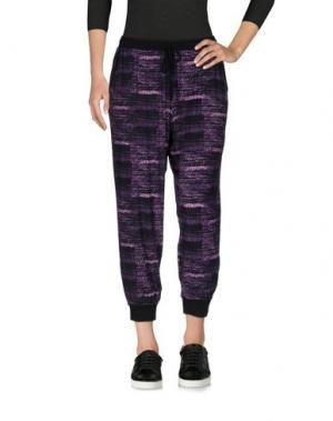 Брюки-капри DKNY. Цвет: фиолетовый