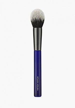 Кисть для лица Holika рассыпчатых текстур Мэджик тул, объемная. Цвет: синий