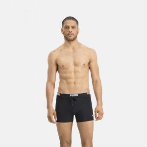 Плавки Swim Men Logo Trunks PUMA. Цвет: черный