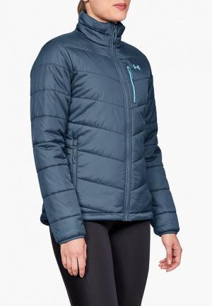 Куртка утепленная Under Armour FC Insulated Jacket. Цвет: синий