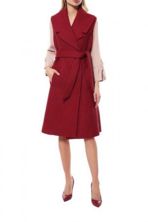 Пальто BRIAN DALES. Цвет: красный