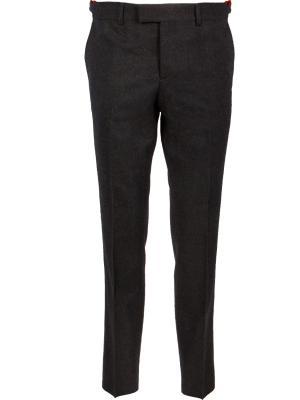 Классические брюки GUCCI. Цвет: серый
