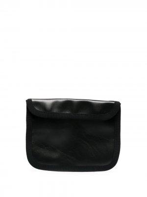 Компактный клатч на молнии Byborre. Цвет: черный