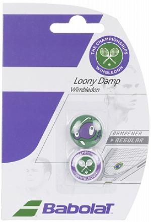 Виброгаситель Loony Damp WimbledonX2 Babolat. Цвет: фиолетовый