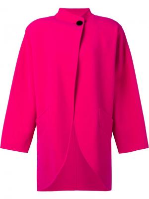 Пальто-кокон Marc Jacobs. Цвет: розовый