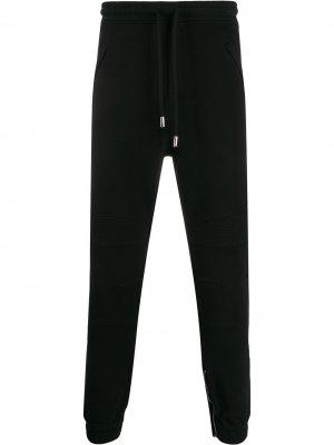 Спортивные брюки с логотипом Marcelo Burlon County of Milan. Цвет: черный