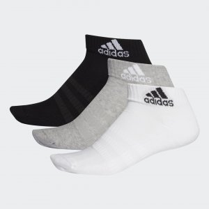 Три пары носков Cushioned Performance adidas. Цвет: черный