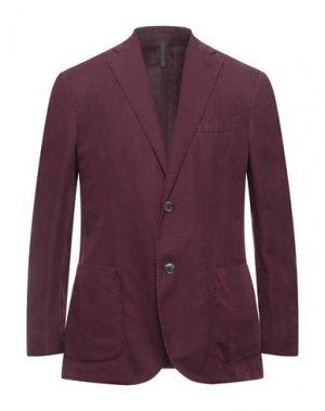 Пиджак MONTEDORO. Цвет: баклажанный