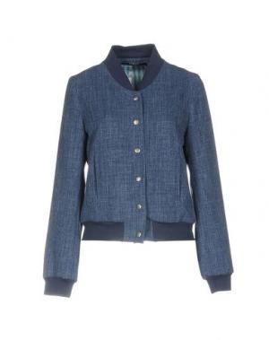 Куртка JANICE. Цвет: синий