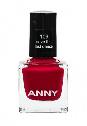Лак для ногтей Anny тон 109. Цвет: красный